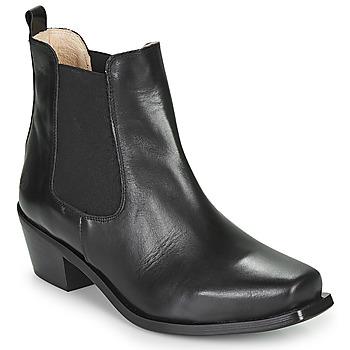 Παπούτσια Γυναίκα Μποτίνια Betty London MERKATO Black