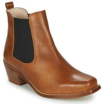 Παπούτσια Γυναίκα Μποτίνια Betty London MERKATO Cognac