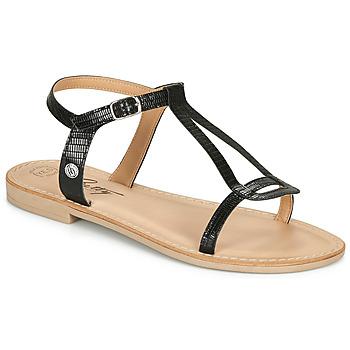 Παπούτσια Γυναίκα Σανδάλια / Πέδιλα Betty London MISSINE Black