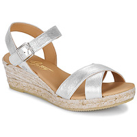 Παπούτσια Γυναίκα Σανδάλια / Πέδιλα Betty London GIORGIA Silver