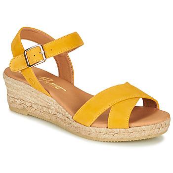 Παπούτσια Γυναίκα Σανδάλια / Πέδιλα Betty London GIORGIA Yellow