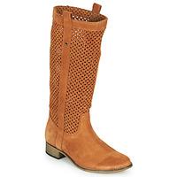Παπούτσια Γυναίκα Μπότες για την πόλη Betty London DIVOUI Cognac