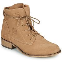 Παπούτσια Γυναίκα Μπότες Betty London MARILU Beige