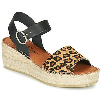 Παπούτσια Γυναίκα Σανδάλια / Πέδιλα Betty London MARILUS Leopard
