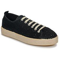Παπούτσια Γυναίκα Χαμηλά Sneakers Betty London MARISSOU Black
