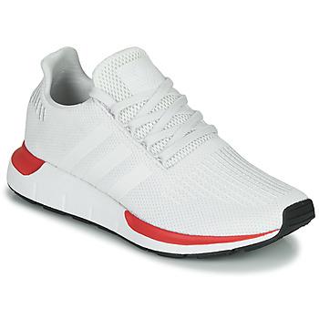 Παπούτσια Άνδρας Χαμηλά Sneakers adidas Originals SWIFT RUN Άσπρο / Red