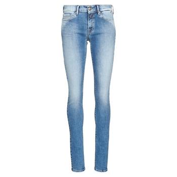 Υφασμάτινα Γυναίκα Skinny jeans Replay LUZ Μπλέ / Medium