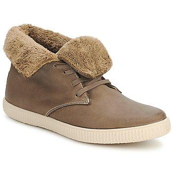 Παπούτσια Ψηλά Sneakers Victoria SAFARI ALTA PIEL TINTADA PELO Taupe