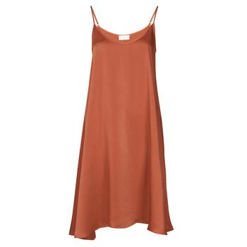 Υφασμάτινα Γυναίκα Κοντά Φορέματα Moony Mood FANETTI Brown