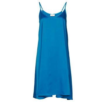Υφασμάτινα Γυναίκα Κοντά Φορέματα Moony Mood MOLETTE Μπλέ