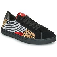 Παπούτσια Γυναίκα Χαμηλά Sneakers Les Petites Bombes MOONWALK Black
