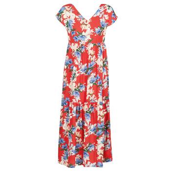 Υφασμάτινα Γυναίκα Μακριά Φορέματα Betty London MALIN Red / Άσπρο / Μπλέ
