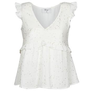 Υφασμάτινα Γυναίκα Μπλούζες Betty London MOUDINE Άσπρο / Dore