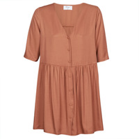 Υφασμάτινα Γυναίκα Κοντά Φορέματα Betty London MOUDENE Brown