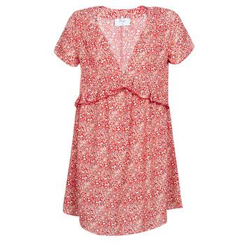 Υφασμάτινα Γυναίκα Κοντά Φορέματα Betty London MARIDOUNE Red