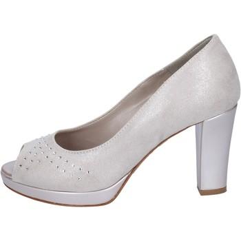 Παπούτσια Γυναίκα Γόβες Lady Soft decollete camoscio sintetico strass Beige