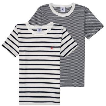 T-shirt με κοντά μανίκια Petit Bateau 53333 Σύνθεση: Βαμβάκι