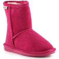 Παπούτσια Κορίτσι Snow boots Bearpaw Emma Toddler Zipper 608TZ-671 Pom Berry pink