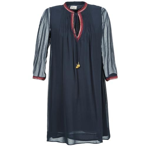 Υφασμάτινα Γυναίκα Κοντά Φορέματα Stella Forest STALOU Μπλέ