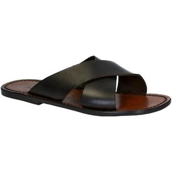 Παπούτσια Άνδρας Τσόκαρα Gianluca - L'artigiano Del Cuoio 560 U MORO CUOIO Testa di Moro