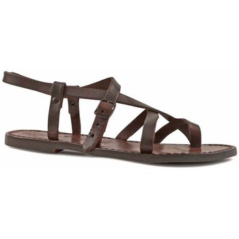 Παπούτσια Γυναίκα Σανδάλια / Πέδιλα Gianluca - L'artigiano Del Cuoio 530 D MORO CUOIO Testa di Moro