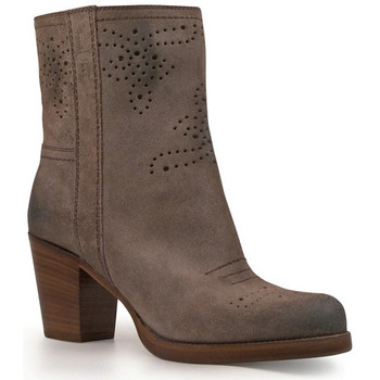 Παπούτσια Γυναίκα Μποτίνια Car Shoe KDT63H 0B2 F0308 Antracite