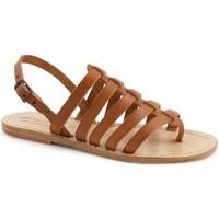Παπούτσια Γυναίκα Σανδάλια / Πέδιλα Gianluca - L'artigiano Del Cuoio 576 D CUOIO LGT-CUOIO Cuoio