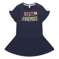 Υφασμάτινα Κορίτσι Κοντά Φορέματα Esprit EDINA Marine