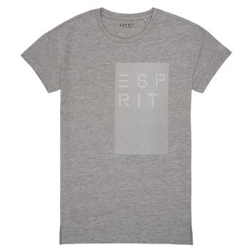 Υφασμάτινα Κορίτσι T-shirt με κοντά μανίκια Esprit EVELYNE Grey