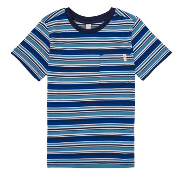 Υφασμάτινα Αγόρι T-shirt με κοντά μανίκια Esprit ERNEST Μπλέ