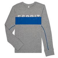 Υφασμάτινα Αγόρι Μπλουζάκια με μακριά μανίκια Esprit FABIOLA Grey