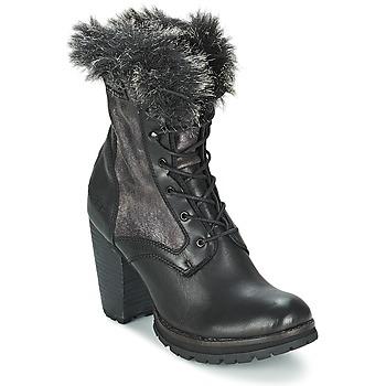 Παπούτσια Γυναίκα Μποτίνια Bunker ACE MAJA Black