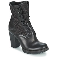 Παπούτσια Γυναίκα Μποτίνια Bunker ACE MEGA Black