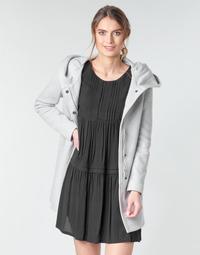 Υφασμάτινα Γυναίκα Παλτό Moony Mood ADELINE Grey /  clair