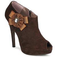 Παπούτσια Γυναίκα Χαμηλές Μπότες Fericelli ASSETE Brown
