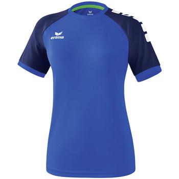 Υφασμάτινα Γυναίκα T-shirt με κοντά μανίκια Erima Maillot femme  Zenari 3.0 bleu/bleu/vert clair