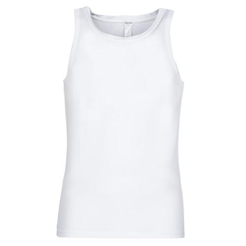 Υφασμάτινα Άνδρας Αμάνικα / T-shirts χωρίς μανίκια Hom SUPREME COTTON TANKTOP Άσπρο