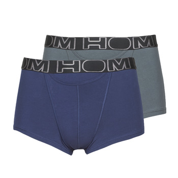 Εσώρουχα Άνδρας Boxer Hom HOM BOXERLINES BOXER BRIEF HO1 PACK X2 Grey / Marine