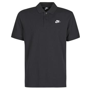 Υφασμάτινα Άνδρας Πόλο με κοντά μανίκια  Nike M NSW CE POLO MATCHUP PQ Black / Άσπρο