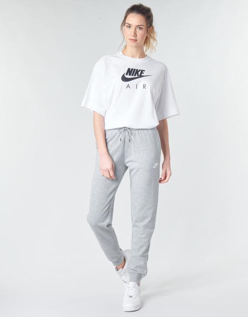 Υφασμάτινα Γυναίκα Φόρμες Nike W NSW ESSNTL PANT REG FLC Grey / Άσπρο