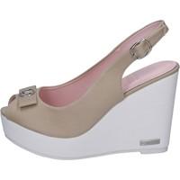 Παπούτσια Γυναίκα Σανδάλια / Πέδιλα Lancetti Σανδάλια BP560 Μπεζ