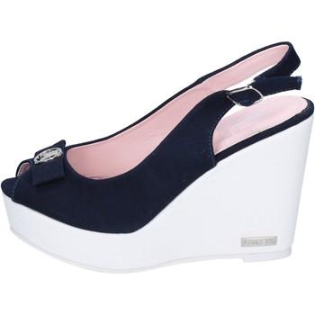 Παπούτσια Γυναίκα Σανδάλια / Πέδιλα Lancetti Σανδάλια BP561 Μπλε