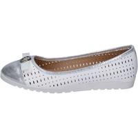 Παπούτσια Γυναίκα Μπαλαρίνες Lancetti ΠΑΠΟΥΤΣΙΑ ΜΠΑΛΕΤΟΥ BP563 λευκό