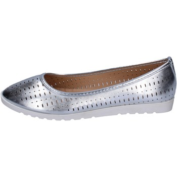 Παπούτσια Γυναίκα Μπαλαρίνες Lancetti ΠΑΠΟΥΤΣΙΑ ΜΠΑΛΕΤΟΥ BP564 Ασήμι