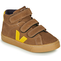 Παπούτσια Παιδί Ψηλά Sneakers Veja SMALL-ESPLAR-MID Brown / Yellow