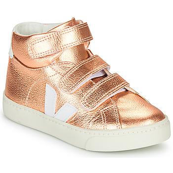 Παπούτσια Κορίτσι Ψηλά Sneakers Veja SMALL-ESPLAR-MID Ροζ