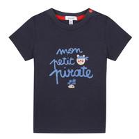 Υφασμάτινα Αγόρι T-shirt με κοντά μανίκια Absorba NADINE Marine