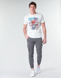 Υφασμάτινα Άνδρας παντελόνι παραλλαγής Jack & Jones JJIPAUL Grey