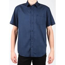 Υφασμάτινα Άνδρας Πουκάμισα με κοντά μανίκια Wrangler S/S 1PT Shirt W58916S35 navy