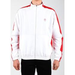 Υφασμάτινα Άνδρας Σπορ Ζακέτες K-Swiss Accomplish Jacket 100250-119 white, red